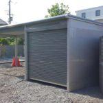 物置ガレージの設置例1