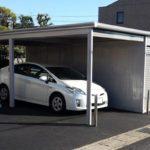 物置ガレージの設置例3