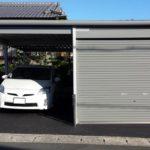 物置ガレージの設置例4